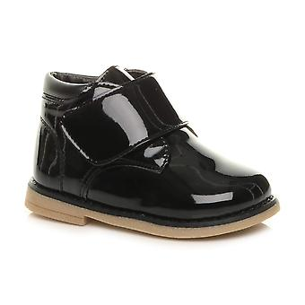Ajvani flickor småbarn casual Strap Desert stövlar skor