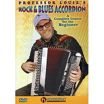 Professor Louie's Rock & Blues Accordion [DVD] USA import