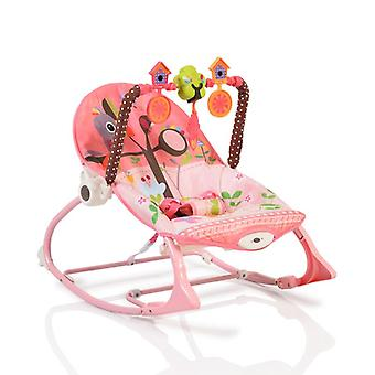 Cangaroo baby rocker Jamaica 63562, adjustable, with playing bow, music, vibration
