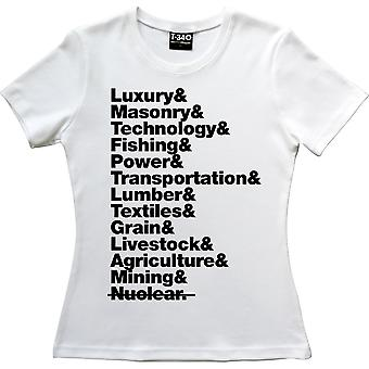 The Hunger Games District Line-up vita kvinnor ' s T-shirt