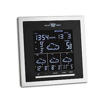 TFA - Satellite-based radio weather station HELIOS 35.5053.IT - black