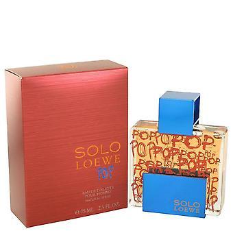 Solo loewe pop eau de toilette spray af loewe 492777 75 ml