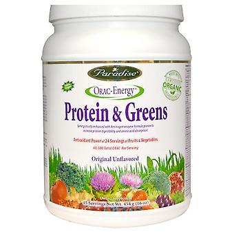 ORAC-Energie, Proteines & Greens (454 g) - Paradise Herbs
