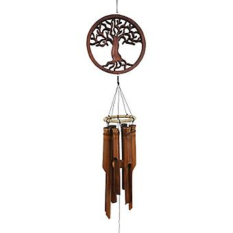 Tree of Life Bamboo Wind Chime