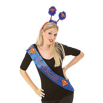 Supergirl Womens/Ladies Deely Boppers Headband