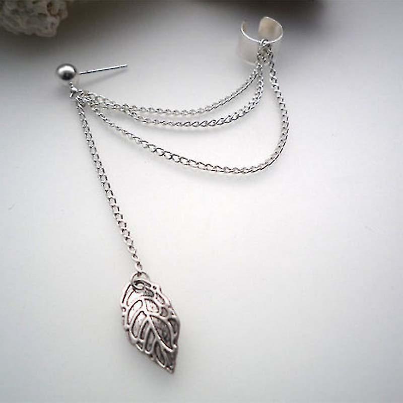 Silver Cartilage to Lobe Earrings for Women