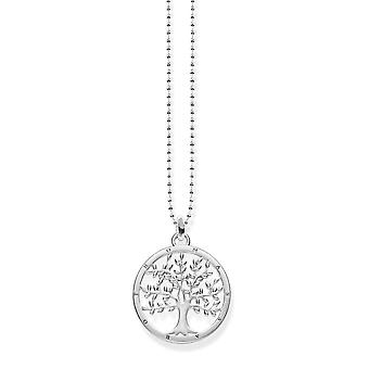 Thomas Sabo Silver Tree Of Life Necklace