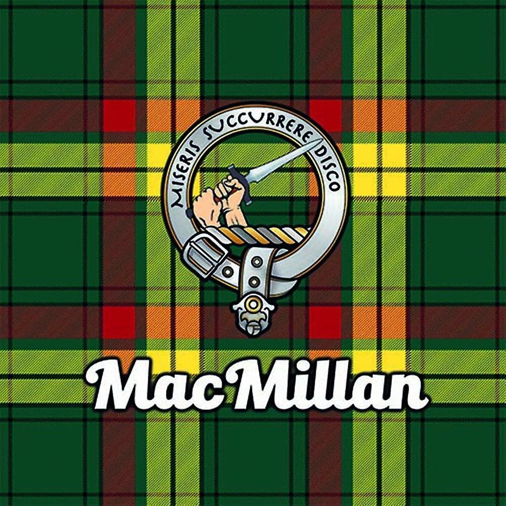 Art2Glass Tartan Clan Coaster - Macmillan
