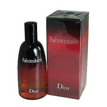 Fahrenheit für Männer von christian Dior 3.4 oz Eau de Toilette spray