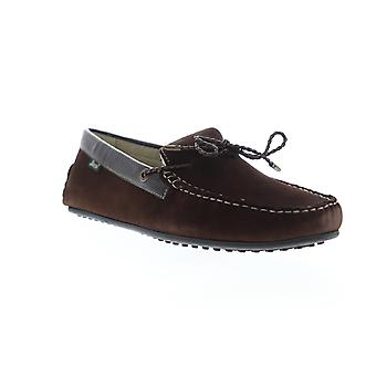 G.H. Bass Tobby Suede Leather  Mens Brown Low Top Boat Shoes Loafers