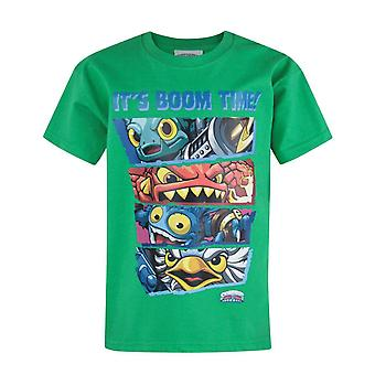 Skylanders Trap Team Boom Time Kid's T-Shirt