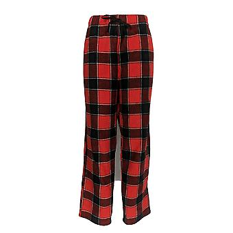 Cuddl Duds Women's Pajama Pants Fleecewear Stretch Novelty Red A371296