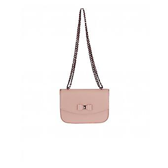Ted Baker Textured Leather Small Bow Crossbody Bag