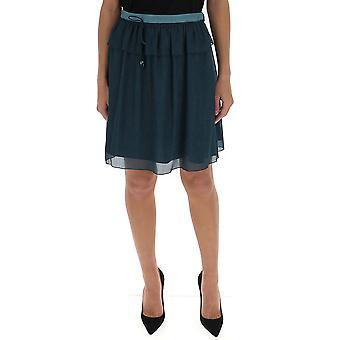 Kenzo F962ju1355ha73 Kvinder's Grøn polyester nederdel
