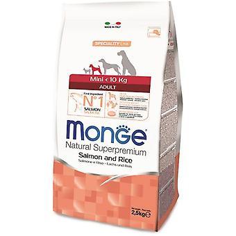 Monge Ns Adult Mini Salmon And Rice (Dogs , Dog Food , Dry Food)