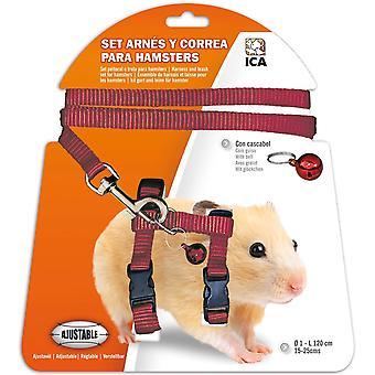 ICA Hamster sele (liten pets, fører & seletøy)