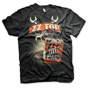 ZZ-Top Eliminator Can Billy Gibbons Rock Official T-Shirt