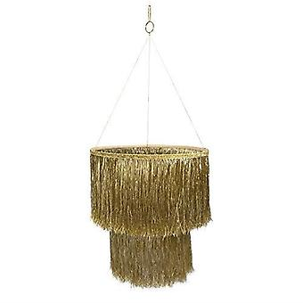 Meri Meri goud Tinsel kroonluchter-Home Party decoratie