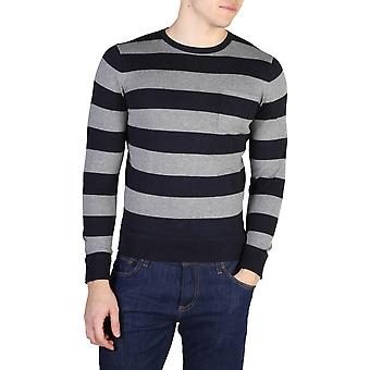 Tommy Hilfiger Original Hommes All Year Sweater - Blue Color 40606