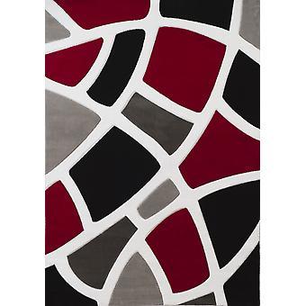 23& x 82& x 0.43& Punainen polypropeeni juoksija matto