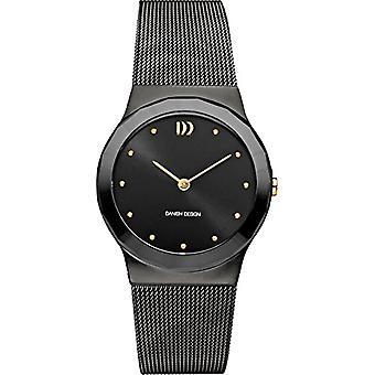 Danish Designs DZ120562-women's wrist watch stainless steel, color: black