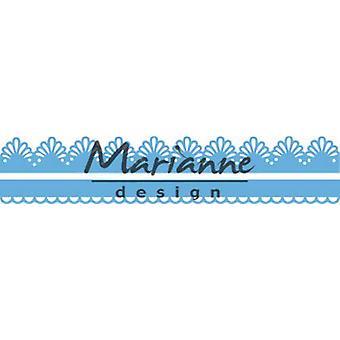 Marianne Design Creatables Schneidedies - Süße Ränder (2) LR0599 152.5x9.5 mm. 152.5x15.5 mm