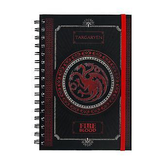 Game of Thrones, Notepad-Targaryen