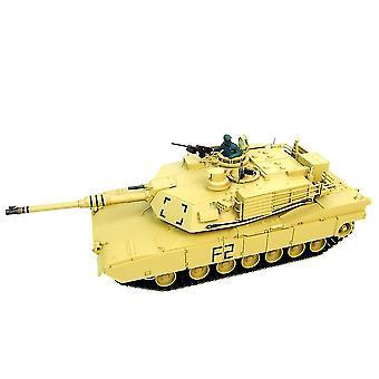 1/16 M1A2 Abrams RC Tank med røg, lyd og BB pistol - 2,4 GHz Version