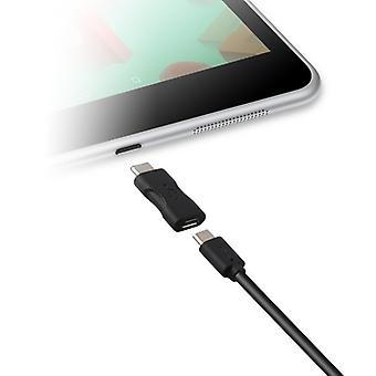 USB 2.0 から USB-C 3.1 アダプタ KSIX ブラック
