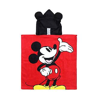 Mickey Mouse Childrens/Kids Hooded Poncho Towel