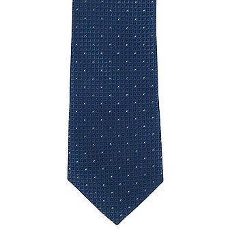 Michelsons London Highlight Micro Spot schmaler Krawatte aus Polyester - lila