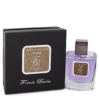 Franck boclet violet eau de parfum spray (unisex) by franck boclet 550528 100 ml