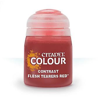 Contrast: Flesh Tearers Red (18ml) ,Citadel Paint Contrast, Warhammer 40,000