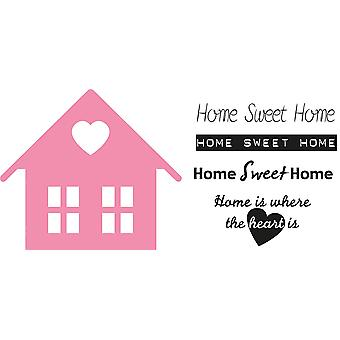 Marianne Design Da collezione Da collezione Da avanze da taglio - Home Sweet Home Col1333