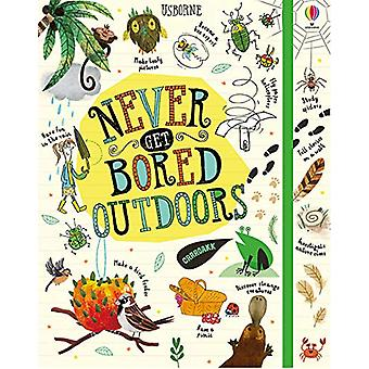 Never Get Bored Outdoors by James Maclaine - 9781474952989 Book
