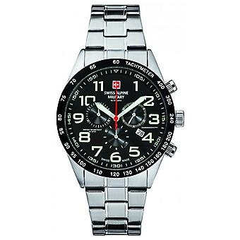 Swiss Alpine Military 7047.9137 men's watch 46 mm