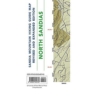 Sandia Mountain Hiking Guide Map - Revised and Expanded Edition by Mi