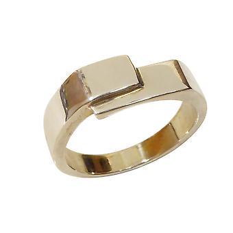 Christian white gold cachet ring