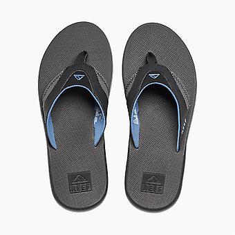 Reef Vatten Vänliga Mens Sandaler med flasköppnare ~ Fanning grå blå