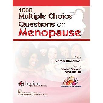 1000 Multiple Choice Questions on Menopause by S. Khadilkar - 9789388