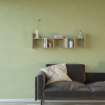 Mensola Rio Color Legno Naturale in Truciolare Melaminico 115x22x34 cm