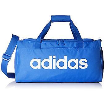 Adidas Linear Core Duffel Laukut mies True Blue/valkoinen yksi koko