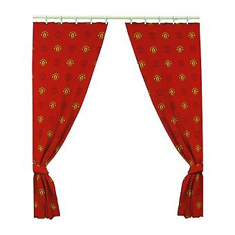 Manchester United FC Crest Curtains
