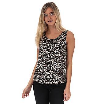 Women's Vero Moda Simply Easy Linea Sleeveless Top en Crema