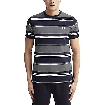 Fred Perry Men's Stripe T-Shirt