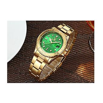 Genuine Deerfun Homage Watch Green Face Gold Smart Watches Analogue Direct Sale UK