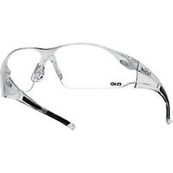Bolle RUSHDPI Rush Spectacles PC Frame Black Temples With HD Hydrophobic Lens