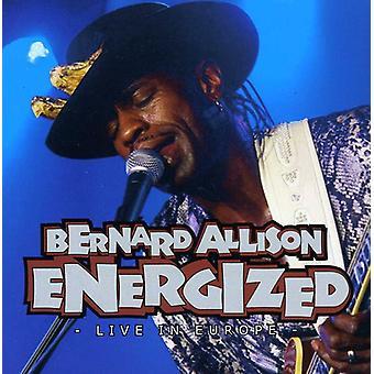 Bernard Allison - Energized Live in Europe [CD] USA import