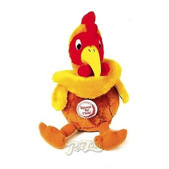 Pet Love Chatterbox Cockerel Toy