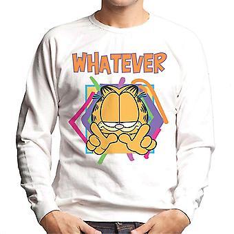 Garfield uanset taber mænd ' s sweatshirt